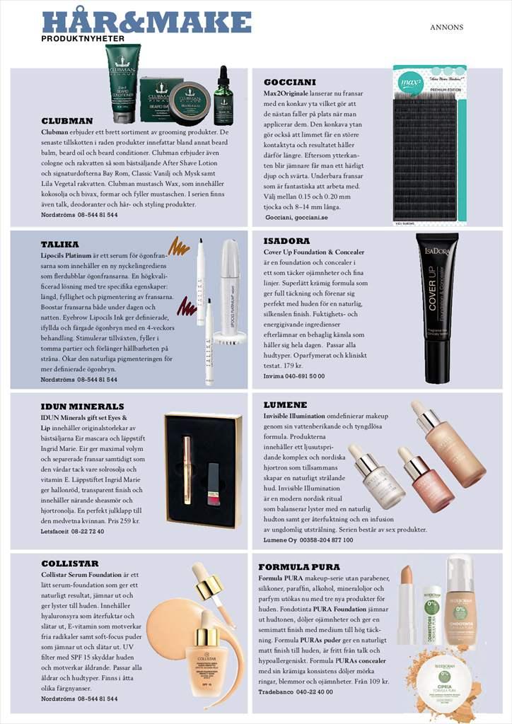 Tidningen Kosmetik 5/2016