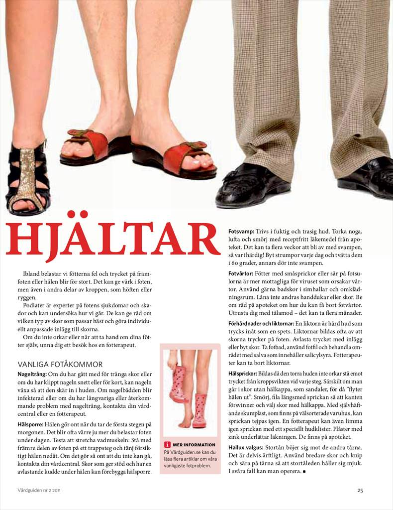 Fler fotbesvar och hur du blir kvitt dem