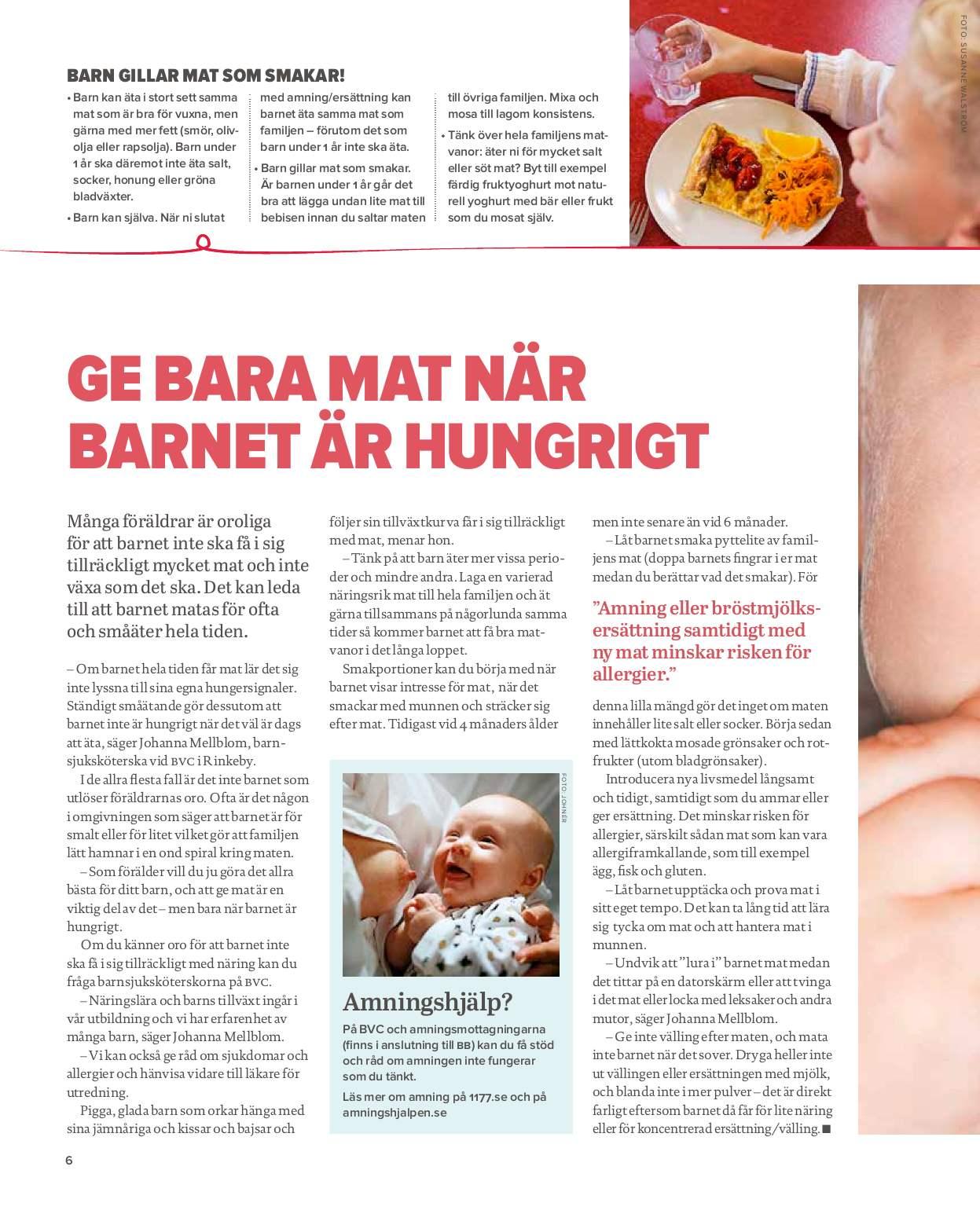 Ny strategi ska minska barns matallergier
