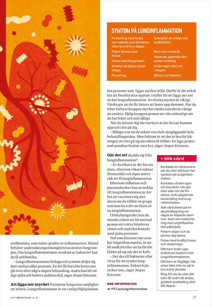 kemisk lunginflammation symtom