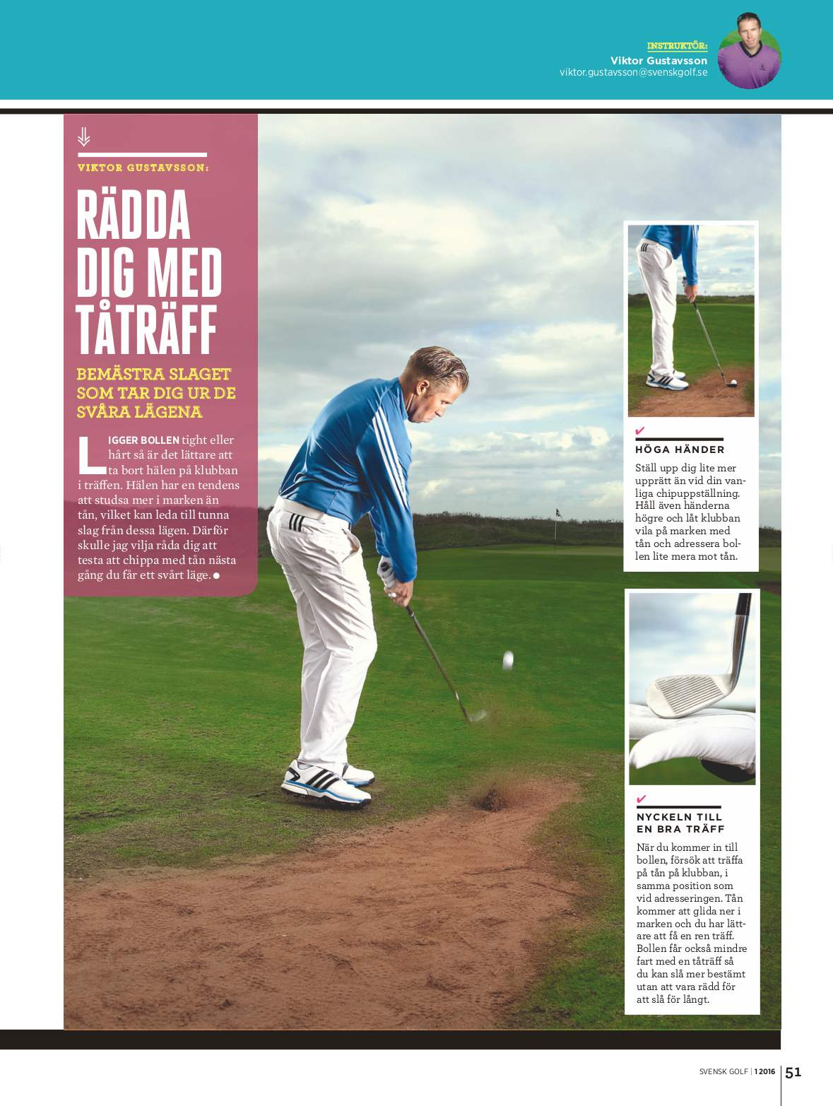 Sa langt efter ar svenska golfare