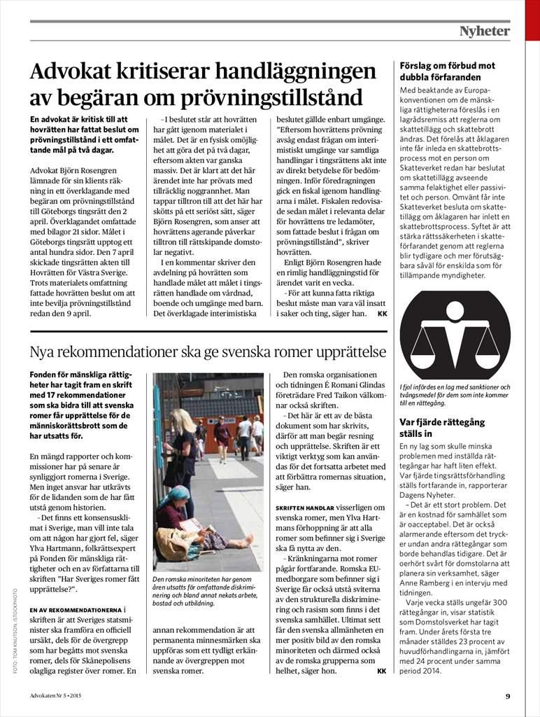 Svensk jurist och folkrattsexpert