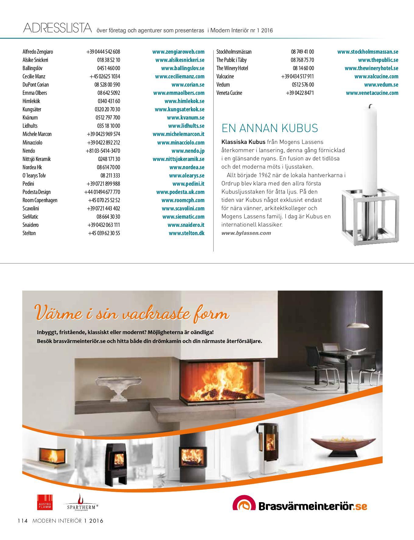 Veneta Cucine O Snaidero modern interiör