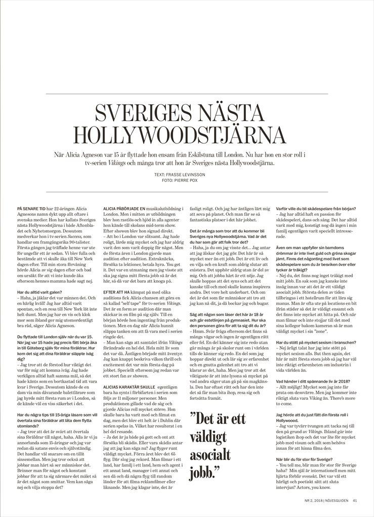 24b2eaedb1a Nöjesguiden Stockholm nr 2-2018